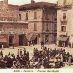 0021 La Piazza Garibaldi nel 1920 circa