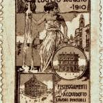 062 bis francobollo chiudilettera del 1910, Aerei alla Pineta