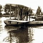 039  Un Idrovolante sul fiume, 1928 (Forse del Principe Umberto in incognito)