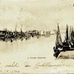 19. Il Fiume Pescara, 1900