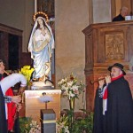 omaggio alla Vergine