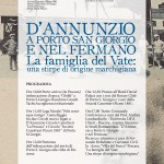 150°anniversario nascita G.D'Annunzio