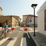 Edifici modificati in un ambiente urbano che pur resta antico