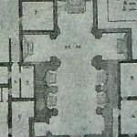 Pianta chiesa S.Giacomo 1808