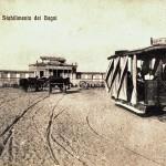 06. Pe Pineta, Stabilimento e tram a cavalli, 1913
